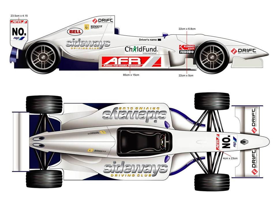 AFR 2013 Championship Livery - Pete Olson