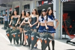 PS Racing AFR grid girls R7-8 2013