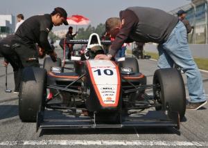 Sunny Wong PS Racing Grid
