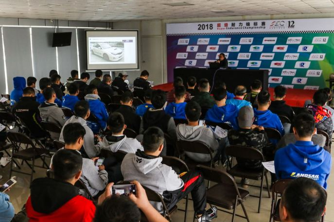 driversmeeting sec 12 hours super endurance championship blackarts racing afr asia formula renault guangdongzhuhai international circuit racing school driver training license asian f3 tc